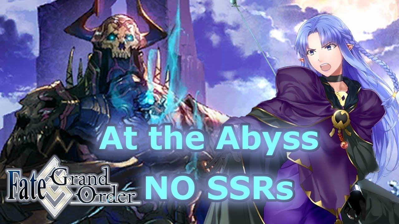 At the Abyss - Bugged King Hassan Fight: No SSR Servants Setup (1 CS used)  - NeroFest 2019 [FGO NA]