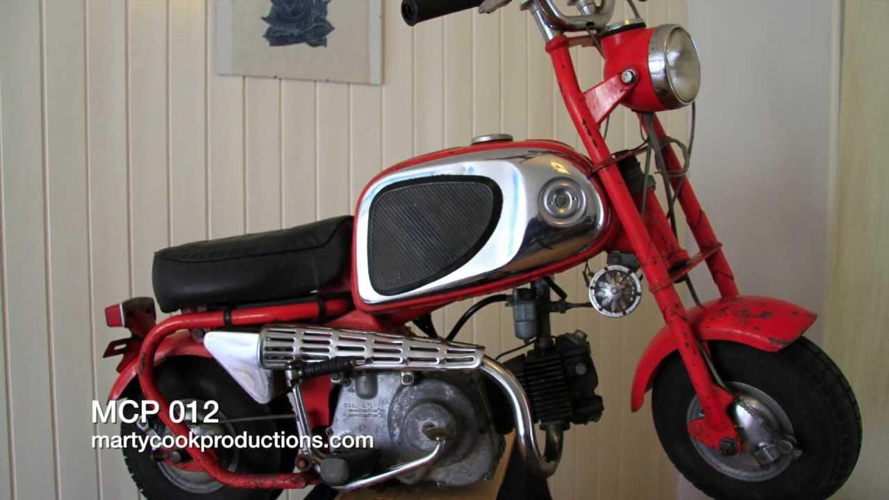 Honda CZ100 Monkey 1964 part 2 HD - YouTube