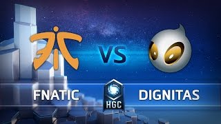 hgc western clash grand final fnatic vs team dignitas game 1