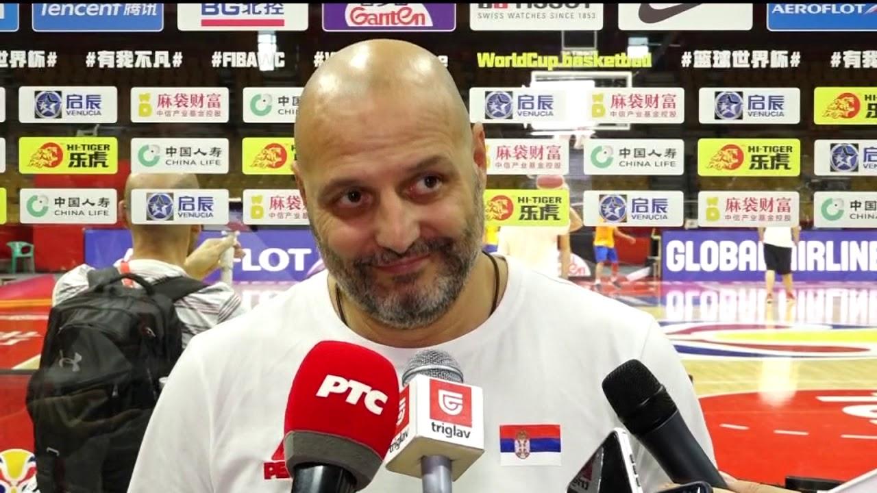 Aleksandar đorđević Pred Meč Srbije Sa španijom Na Svetskom Prvenstvu Sport Klub Košarka