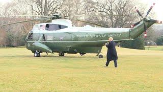 Trump arremete contra su juicio político en el Senado | AFP