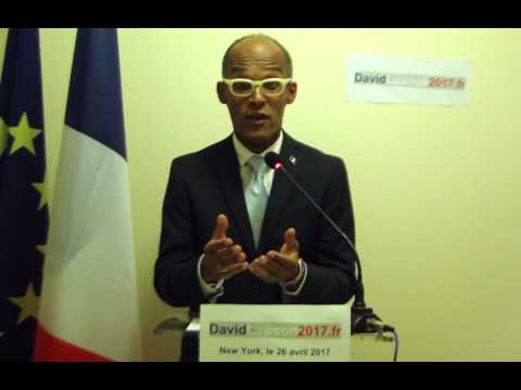 David Lawson candidat aux élections législatives 2017 des Francais établis en Amérique du Nord