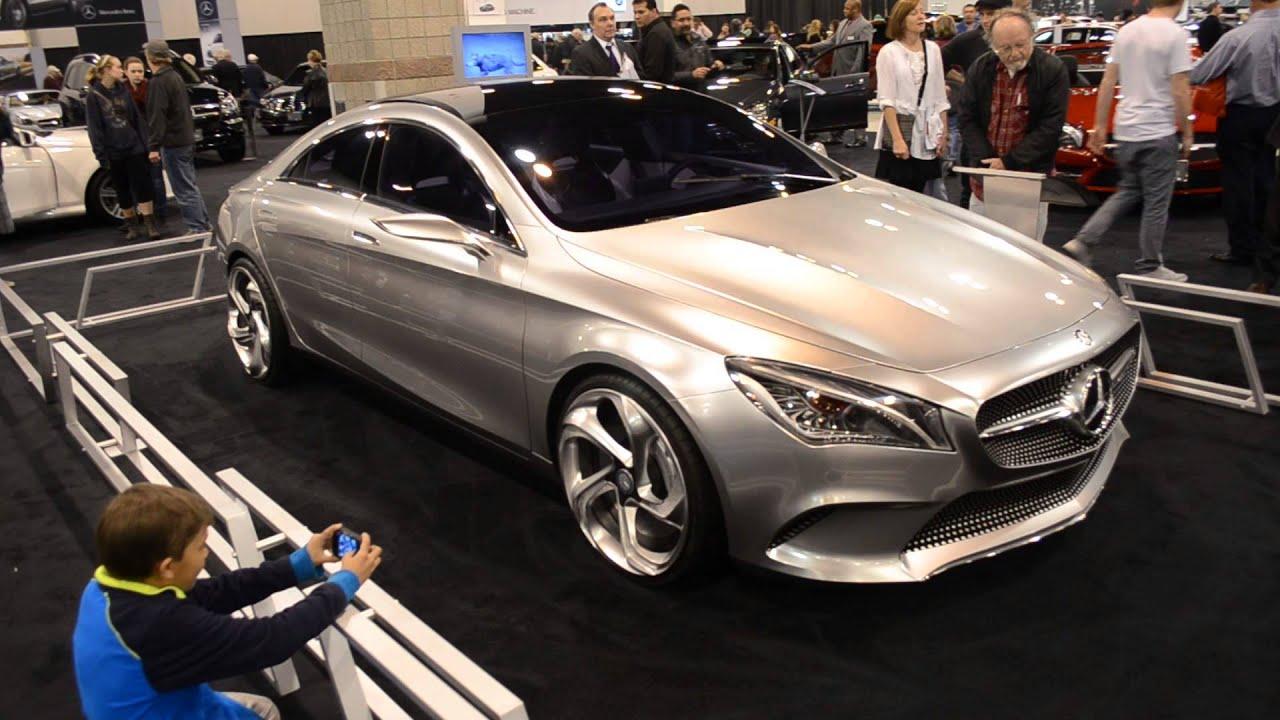 2014 Mercedes CLA 250 Concept Car at Denver Auto Show
