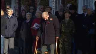 Remembrance Sunday 2013: Midhurst remembers Corporal David O