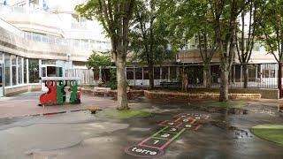 École maternelle Émeriau : projet d'aménagement de la cour Oasis
