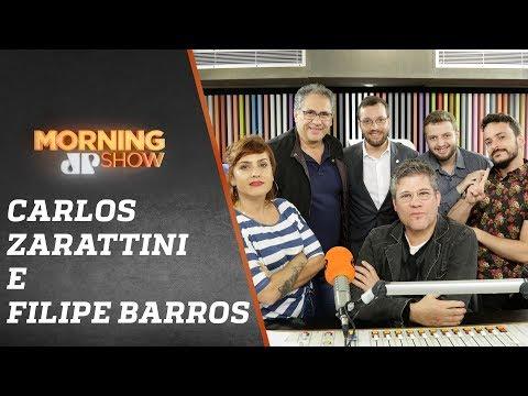 Carlos Zarattini e Filipe Barros - Morning Show  050919