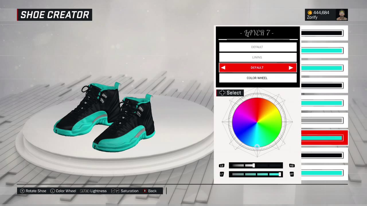 cf612b4ef90f38 NBA 2K17 Shoe Creator - Air Jordan 12