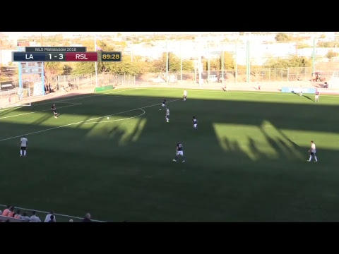 2018 MLS Preseason - LA Galaxy vs Real Salt Lake