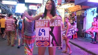 Pattaya Walking Street - 26 July 2015(Pattaya Walking Street - 26 July 2015 Full walk around at Pattaya Walking Street late on a relatively quiet Sunday night in the low season. Filmed 26th July 2015 ..., 2015-07-28T05:00:00.000Z)