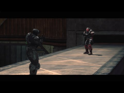 The Running Dead: End of the Line  Part 66 Halo Reach Zombie Machinima