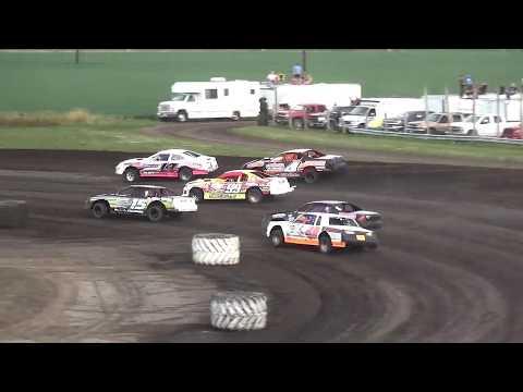 IMCA Stock Car Heat 3 Benton County Speedway 8/11/19