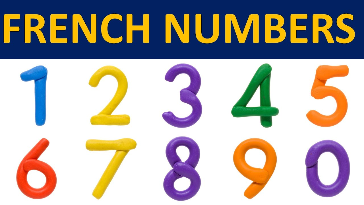 Learn French - French Numbers