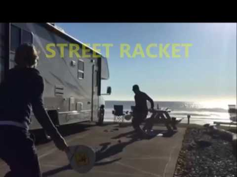 Street Racket : sport and fun - the perfect break on your roadtrip