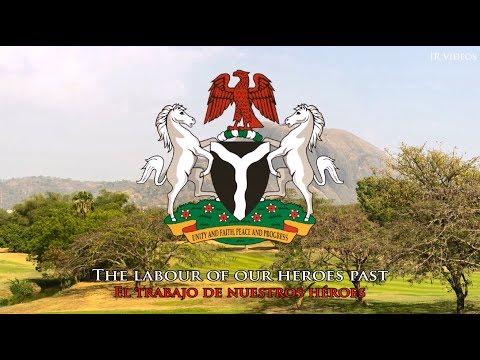 Himno nacional de Nigeria (traducción) - Nigerian Anthem (ES)
