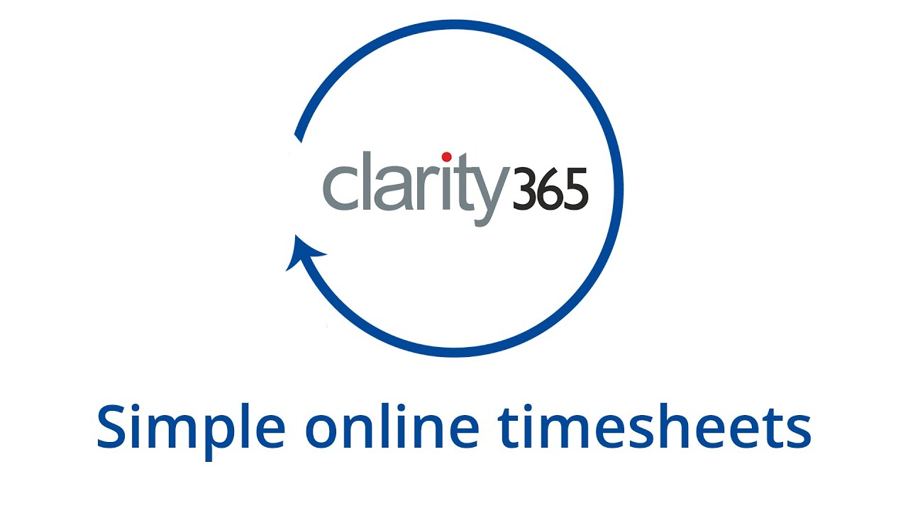 simple online timesheets with clarity365
