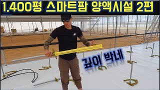 1400평스마트팜 양액시설 2편 / 바닥재/ 딸기 / …