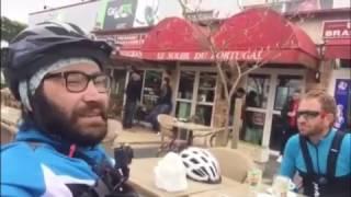 Bisiklette ruble ve ayna kol temizliği