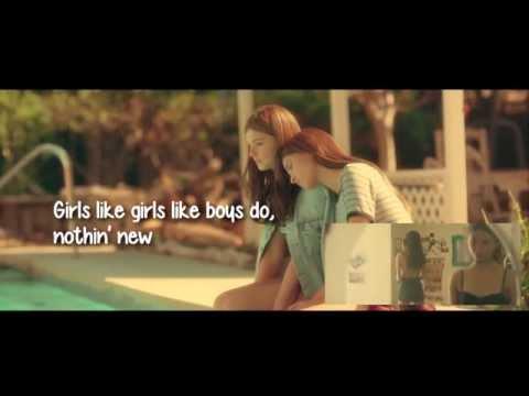 Hayley Kiyoko - Girls Like Girls (Lyric Video)
