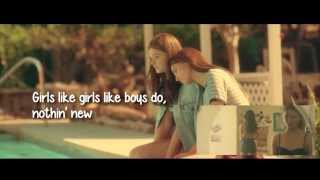 Hayley Kiyoko - Girls Like Girls (Lyric Video)