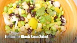 Healthy Black Bean Edamame Salad