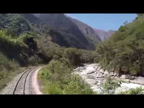 Hiram Bingham train to Machu Picchu - Raw footage
