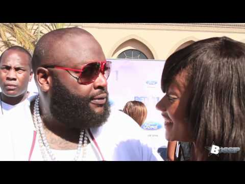Rick Ross Called 'Officer Ricky' During Red Carpet Interview At BET Awards! 2011
