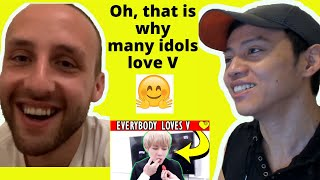 Baixar BTS (방탄소년단) — EVERYONE LOVES BTS V 뷔 (Kim Taehyung 김태형)! Part 1 | Reaction video