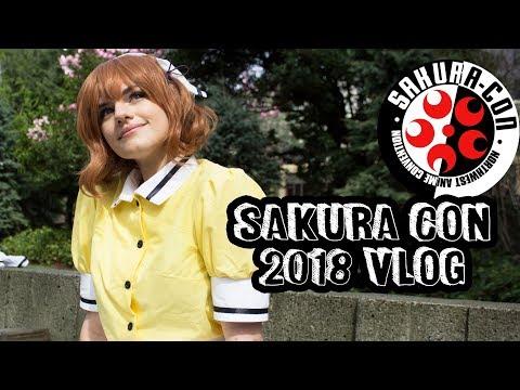 Sakura Con 2018 Vlog 🌸Blend-S, Cosplay, Spending Too Much Money!