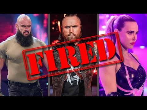 MAJOR SURPRISE WWE FIRINGS...AEW Releases...John Cena Causes Fast 9 To Tank...Wrestling News
