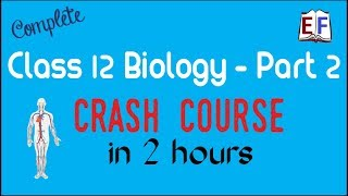 Crash Course Class 12 Bio Biology (Part 2 ) Revision in 2 hrs