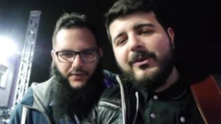 Ape Escape+Guernica+Andrea D'Alessio-InvisibiliTour-Live Manocalzati Backstage #3