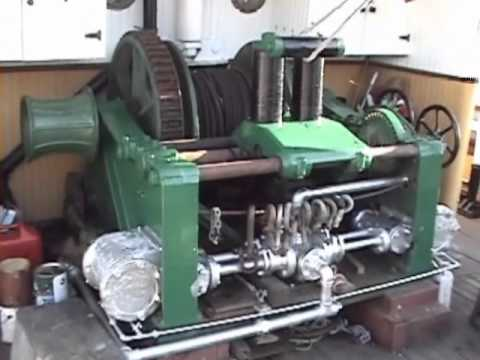 SS Master's Steam Powered Towing Winch