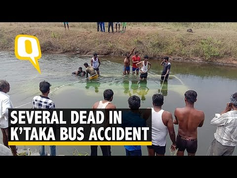 25 Killed in Karnataka Bus Mishap, Schoolboy Lone Survivor | The Quint