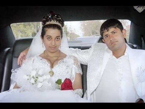 Цыганская свадьба. Красивые молодожены. Петя и Оля. 17 серия