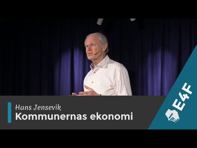 Hans Jensevik - Kommunernas ekonomi