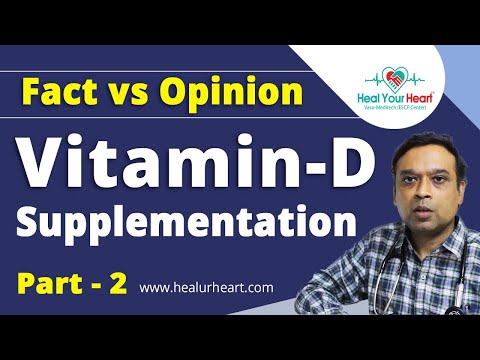 facts vs opinion vitamin d evidence part ii