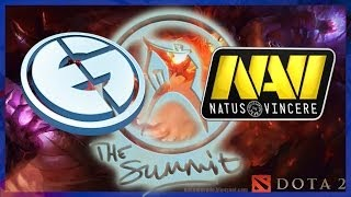 EG vs NaVi US The Summit Lan Finals Dota 2 ENG