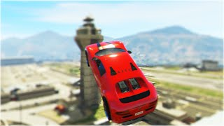 Extreme GTA 5 Stunts Montage (GTA 5 Stunts Compilation)