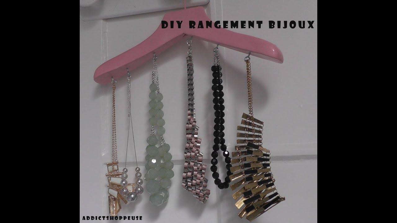 diy rangement bijoux youtube. Black Bedroom Furniture Sets. Home Design Ideas