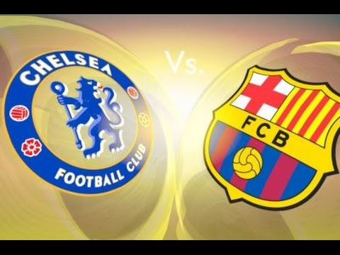 Fifa 15 FC Barcelona vs Chelsea Full Match