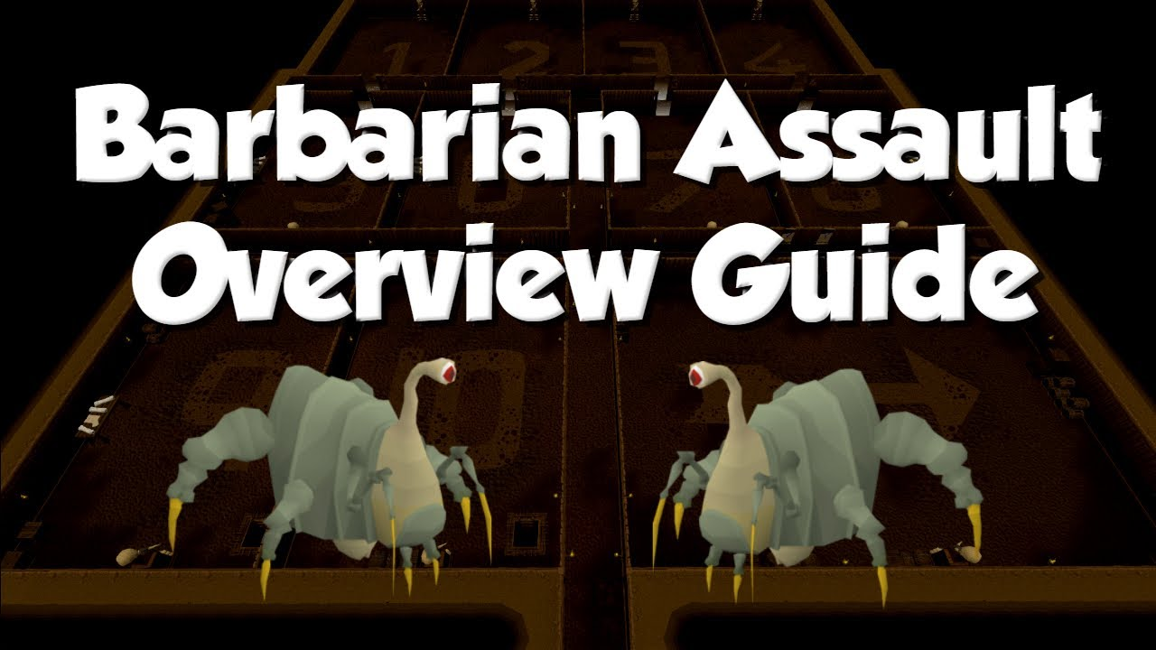 [OSRS] Beginner's Barbarian Assault Guide