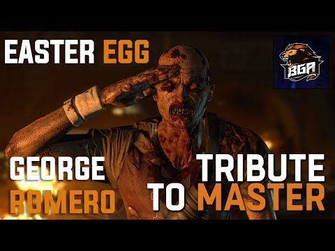 Dying Light - New Easter Egg | George Romero | Location In Slums | 2017