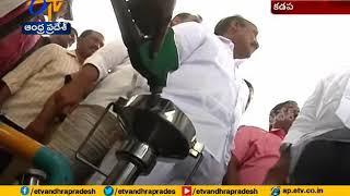 Ministers Adinarayana, Prathipati Makes Sudden Surprise   Visit in Petrol Bunks   Kadapa