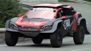 Peugeot 3008 DKR Maxi    800Nm Twin-Turbo Diesel Dakar Monster - Montée des Légendes 2018