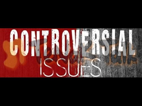 Controversial issues psychology