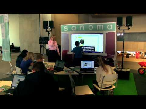 A digital English lesson in Finland - engagement, interaction and fun