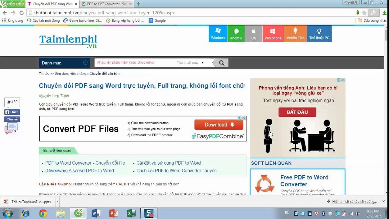huong dan chuyen duoi pdf sang ppt