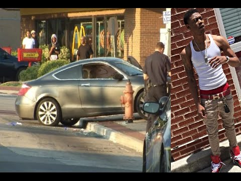 Baltimore Rapper 'Lor Scoota' Murdered in Broad Daylight while Driving his Car.