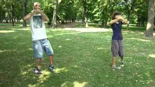 Taiji in the Park - Dani and Maria