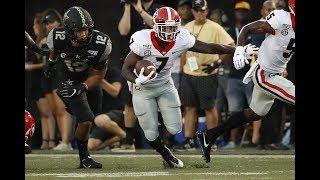 #3 Georgia Highlights Vs. Vanderbilt 2019   CFB Week 1   College Football Highlights 2019